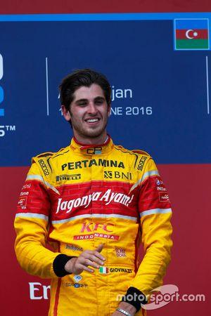 Победитель гонки - Антонио Джовинацци, PREMA Racing