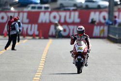 Troisième place Hiroki Ono, Honda Team Asia