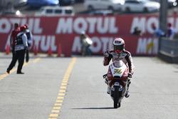 Il terzo classificato Hiroki Ono, Honda Team Asia