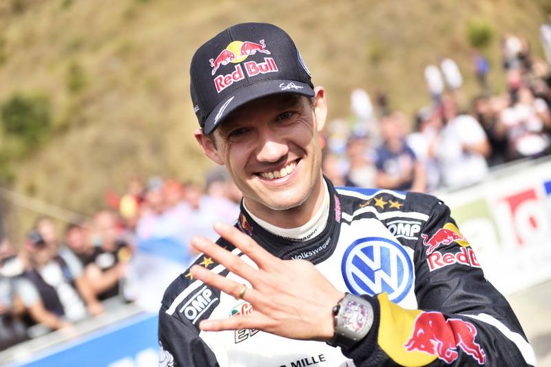 Podium: 1. Sebastien Ogier, Volkswagen Motorsport
