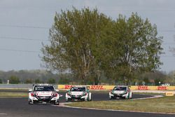 Rob Huff, Honda Racing Team JAS, Honda Civic WTCC; Norbert Michelisz, Honda Racing Team JAS, Honda C