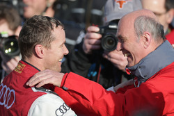 Benoit Treluyer, Audi Sport Team, Dr. Wolfgang Ullrich, Audi Motorsport-teambaas