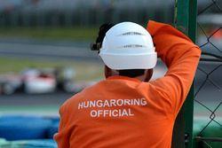 Hungaroring Official, track guard
