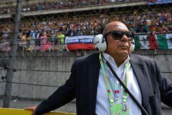 Antonio Perez, Vater von Sergio Perez, Sahara Force India F1