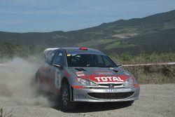 Massimo Snichelotto, Gianpaolo Velleri, Peugeot 206 WRC #8