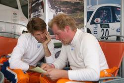 Marcus Gronholm y Andreas Eriksson