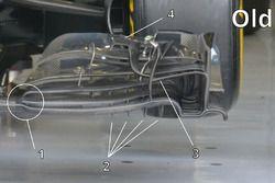 Часть переднего антикрыла McLaren MP4-31