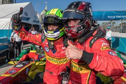 Sieger Lucas di Grassi, ABT Schaeffler Audi Sport mit dem Teamkollegen Daniel Abt, ABT Schaeffler Au