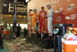 Scott Dixon, Chip Ganassi Racing Chevrolet, Simon Pagenaud, Team Penske Chevrolet, Will Power, Team