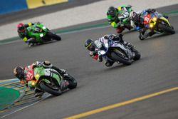 #91 Kawasaki: Laurent Brison, Patrick Mageot, Nicolas Majastre
