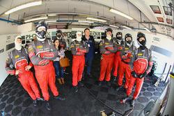Le garage de Phoenix Racing