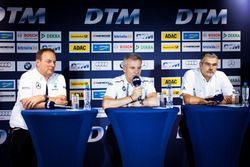 Press Conference: Ullrich Fritz, Team Principal Mercedes-AMG HWA; Jens Marquardt, BMW Motorsport Director; Dieter Gass, Head of DTM Audi Sport