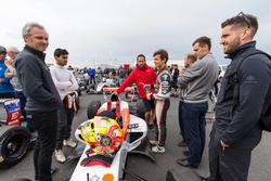 Lando Norris, Josef Kaufmann Racing y Jehan Daruvala, Josef Kaufmann Racing