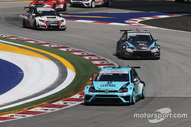 Жан-Карл Верне, Volkswagen Golf GTI TCR, Leopard Racing