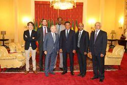 Президент FIA Жан Тодт и Президент Эфиопии Мулату Тешоме