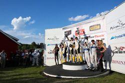 Podium GTLM: Winner #4 Corvette Racing Chevrolet Corvette C7.R: Oliver Gavin, Tommy Milner; second place #3 Corvette Racing Chevrolet Corvette C7.R: Antonio Garcia, Jan Magnussen; third place #67 Ford Performance Chip Ganassi Racing Ford GT: Ryan Briscoe, Richard Westbrook