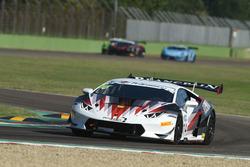 #114 Lamborghini Huracan S.GTCup, Vincenzo Sospiri Racing: Amir Krenzia