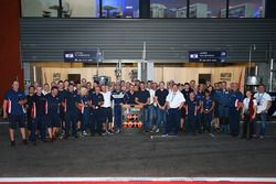 LMP3 class champions United Autosports group photo