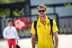 Jack Clarke, Driver and Physio of Jolyon Palmer, Renault Sport F1 Team