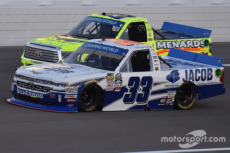 Ben Kennedy, Chevrolet; Matt Crafton, ThorSport Racing, Toyota