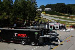 Fahrerlager an der Rennstrecke Road Atlanta