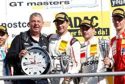 Podium: Sieger #99 Precote Herberth Motorsport Porsche 911 GT3 R: Robert Renauer, Martin Ragginger