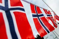Norveç bayrakları
