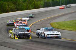 Brandon Jones, Richard Childress Racing Chevrolet, Brennan Poole, Chip Ganassi Racing Chevrolet