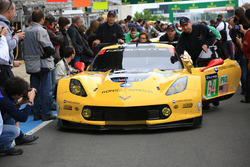 Экипаж #64 Corvette Racing - GM Chevrolet Corvette C7-R