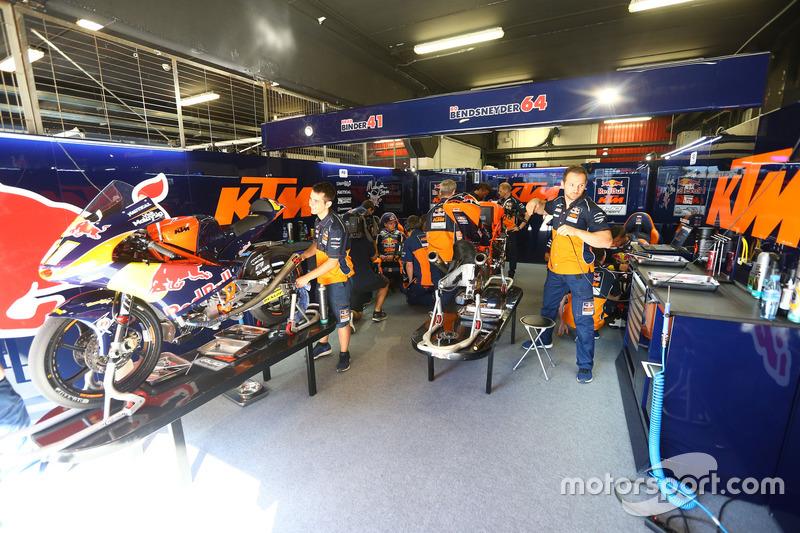 Brad Binder, Red Bull KTM Ajo's KTM garage