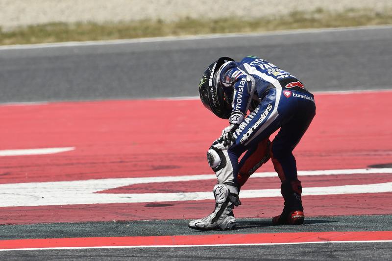 Lorenzo nach dem Unfall