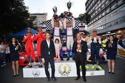 Podio: i secondi classificati Luca Pedersoli e Matteo Romano, i vincitori Marco Signor e Patrick Ber