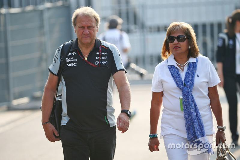 Robert Fernley, Vice Team Principal Sahara Force India F1 Team