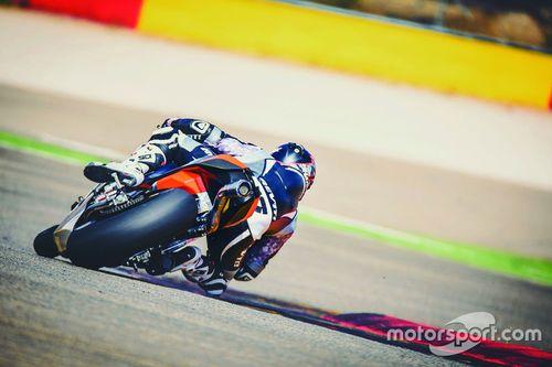 KTM-Test in Aragon, August