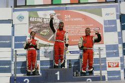 Gara 2 podio Radical, Michele Esposito (Autosport Sorrento,Radical Suzuki 1585-RAD #97), Ida Petrill