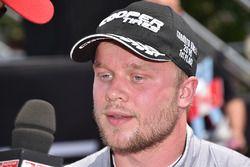 Il vincitore della gara Felix Rosenqvist, Belardi Auto Racing