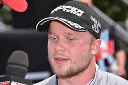 Race winner Felix Rosenqvist, Belardi Auto Racing