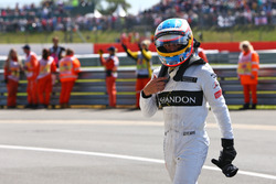Фернандо Алонсо, McLaren in parc ferme
