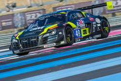#49 Drivex, Audi R8 LMS Ultra: William Paul, Heino Bo Frederiksen, Zoltan Fekete, Dominik Fekete, Ju