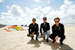 Robert Wickens, HWA; Christian Vietoris, Mercedes-AMG DTM Team Mücke; Lucas Auer, Mercedes-AMG DTM Team Mücke
