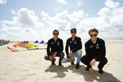 Robert Wickens, HWA; Christian Vietoris, Mercedes-AMG DTM Team Mücke; Lucas Auer, Mercedes-AMG DTM T