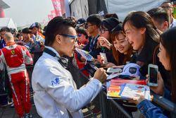 #35 Baxi DC Racing Alpine A460 Nissan: David Cheng