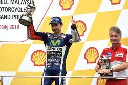 Podium: third place Jorge Lorenzo, Yamaha Factory Racing