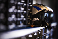 Helmet of the mechanics from Ford Chip Ganassi Racing Team UK Ford GT