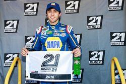 Ganador de la pole Chase Elliott, Chevrolet