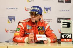 Press Conference: Pietro Fittipaldi, Fortec Motorsports