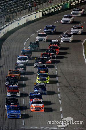Inicio: Spencer Gallagher, GMS Racing Chevrolet líder