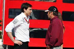 Toto Wolff, Mercedes AMG F1 Direktörü ve Gerhard Berger