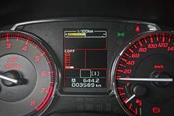 Subaru WRX STi, gli interni