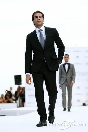 Felipe Nasr, Sauber F1 Team en el Amber Lounge Fashion Show